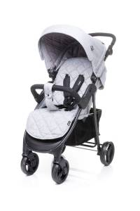 4 BABY Wózek spacerowy RAPID XIX LIGHT GREY