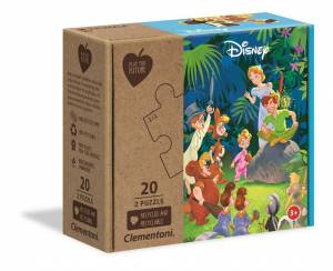 Puzzle 2x20 elementów Jungle Book CLEMENTONI 24774
